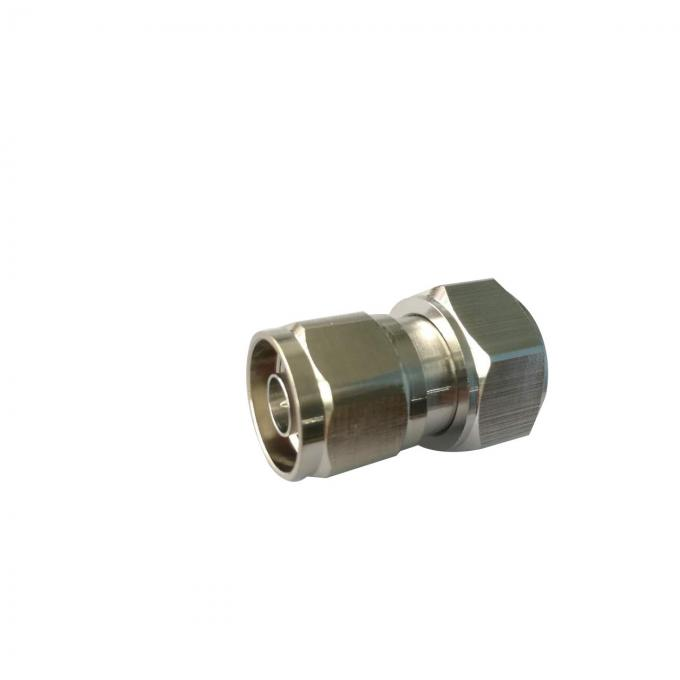 Straight Male To N Male RF Coaxial Connectors Adaptor Low Insertion Loss