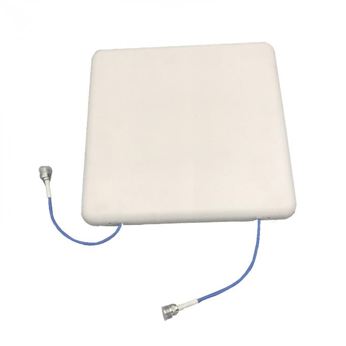 2xN - Female Connector Plate Directional Antenna 100W 890-2700MHz 7dBi