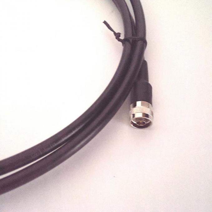 "N male to DIN male jumper cable for 1/2"" coaxial flexible cable"