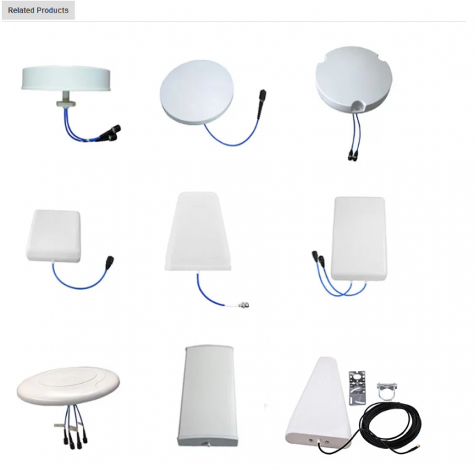 High quality Base Station Antennas Fiberglass 6-port tri-sector omni directional antenna 2