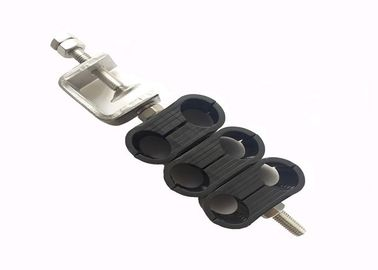 15 - 17mm Tower Cable Clamp To Secure 2 - 6 Fiber Cables And Power Cables PP supplier