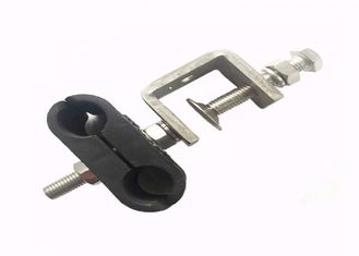 1 / 2 In Flexible Feeder Cable Clamp , Sturdy Double Holes Feeder Clamp Andrew supplier