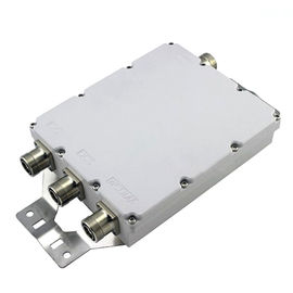 China 3 In 1 Out Triple Band Combiner In Telecom For Indoor Distribution System Black supplier