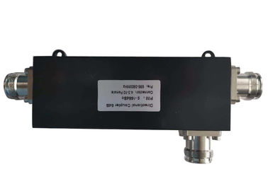 698 - 2700MHz  4.3-10 Mini Din Female 15dB Coaxial RF Directional Coupler supplier