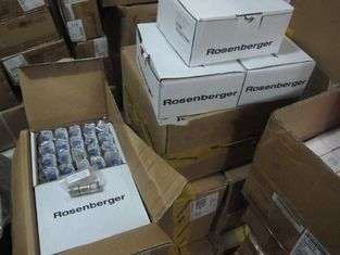 China Rosenberger N Type RF Coaxial Connectors High Insulation Resistance 5000MΩ supplier