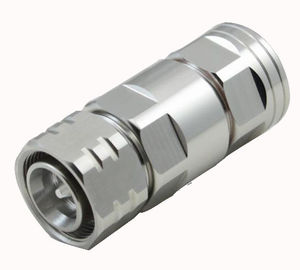 High quality RF coaxial connector 4.3-10 Mini DIN Male for 1/2'' Flexible feeder cable supplier