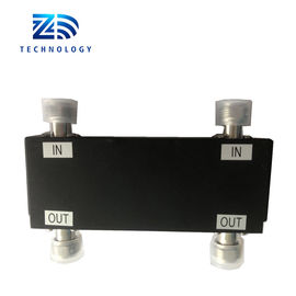 China RF 800-2700MHz 2 in 2 out Hybrid Coupler N Female Connector supplier