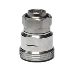 China Mini DIN Male RF Coaxial Connector , Coaxial Cable Connector Adapter supplier