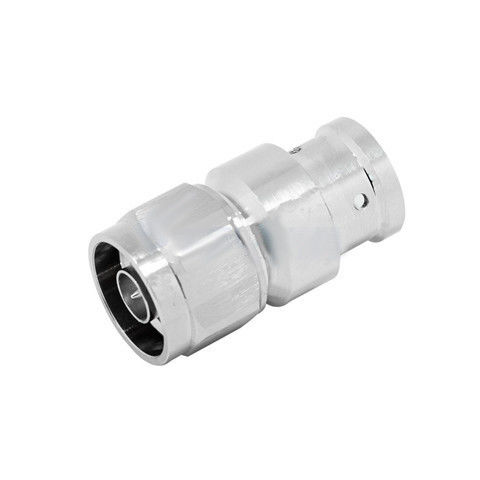 "High Power Rf Coaxial Connector 4.3-10 Mini Din Male for 1/2"" super flexible cable supplier"