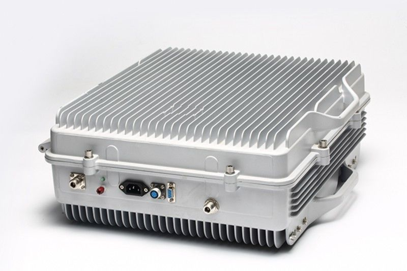 20W N- Female IP65 Fiber Optic Signal Booster For Mobile Phone High Isolation Full Duplex supplier