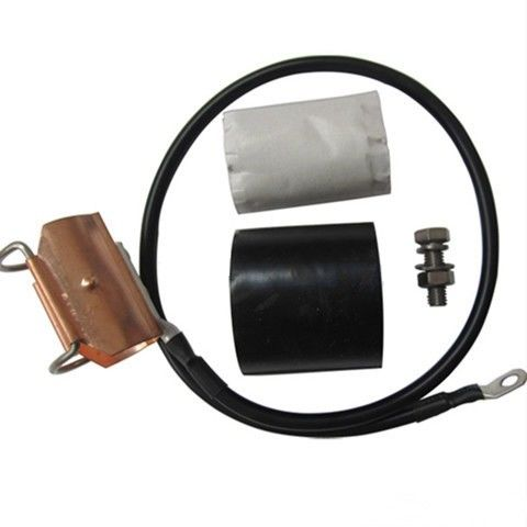 Copper Coaxial Cable Grounding Kit , IBS Components Earth Clamp For 15 / 8 ″