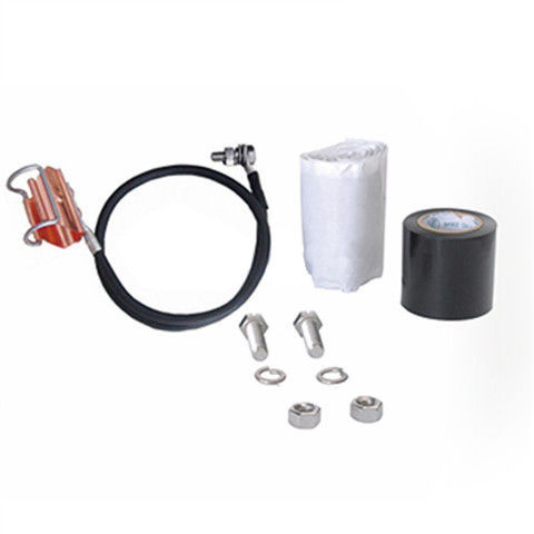 Ring Buckle Coaxial Cable Grounding Kit For Telecom Cable , Copper Telecom Components