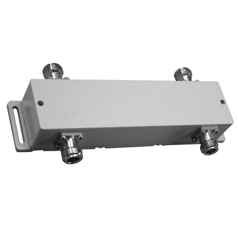 Lower Insertion Loss Hybrid Coupler Combiner With 4.3 - 10 Connectors Through Hole supplier