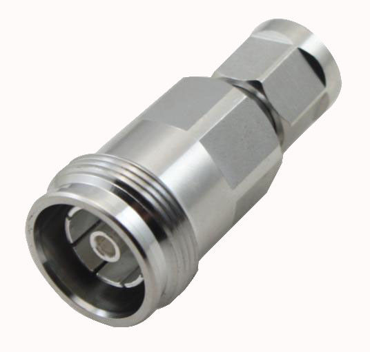 Low PIM RF coaxial connector 4.3-10 mini din female to  NEX10 Male adapter supplier