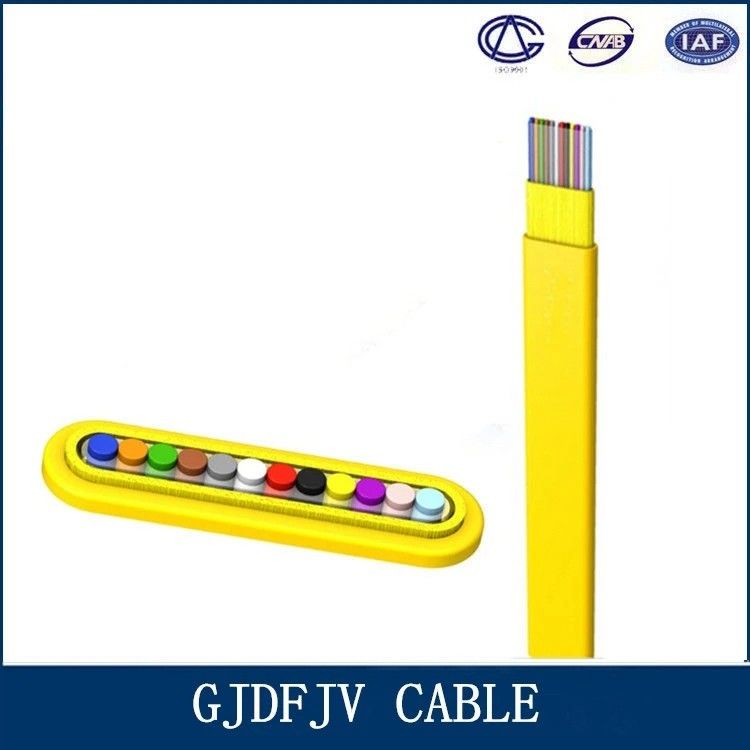 All Dielectric Structure Ribbon Fiber Cable With GJDFJV Telecom Part