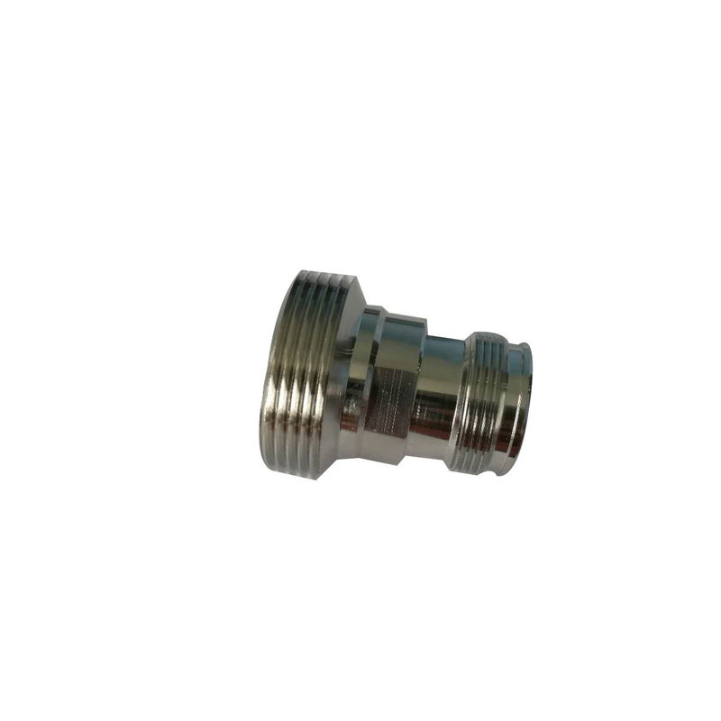 50 Ohm Electrical RF Coaxial Connectors 4.3-10 Female To Din 7/16 Straight Female Adapter supplier