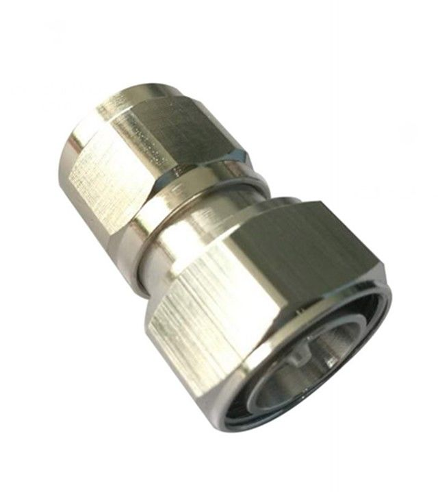 Rf coaxial connector Mini Din 4.3-10 straight male to N Male Adaptor supplier