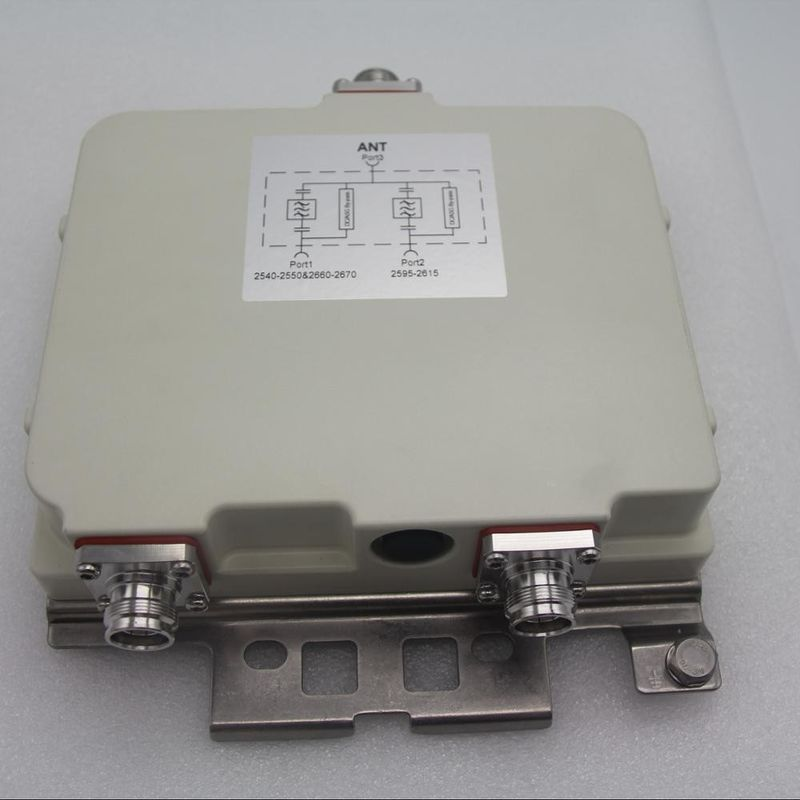 2540-2670MHz Diplexer/Duplexer/Combiner 4.3-10F low PIM low VSWR Well-known manufacturer