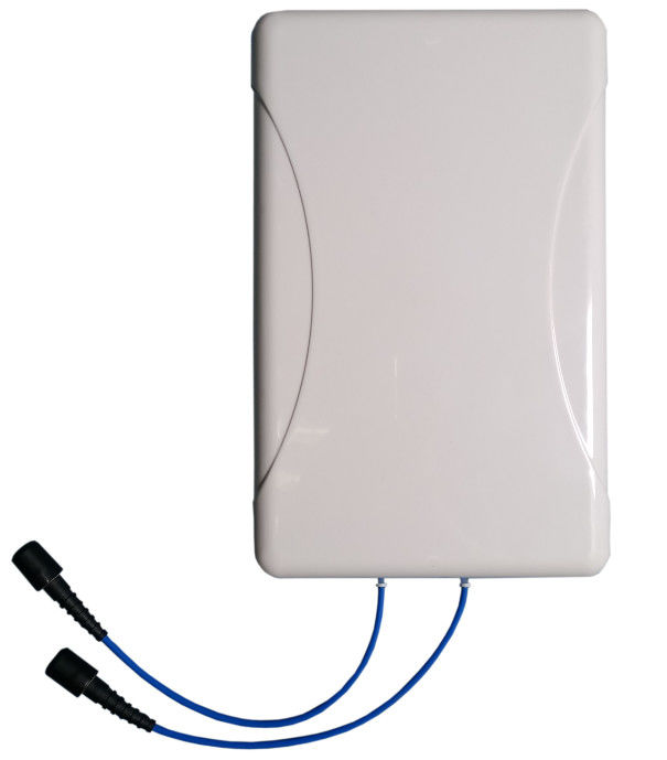 50ohm Impedance Rectangular Patch Antenna , 2×2 MIMO Panel Antenna N - Female
