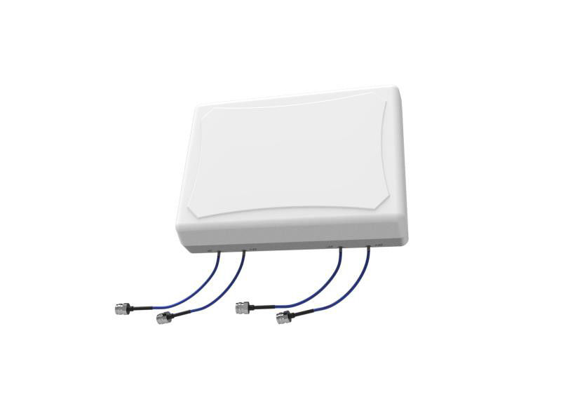 Wide Band Indoor Panel Antenna Coverage 698MHz - 4000MHz Stable Performance