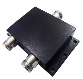 China Microwave Wideband Cavity Rf 2 Way Splitter N Female 800 - 2700 MHz  Water Resistant factory