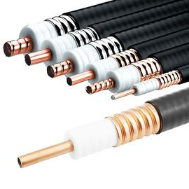 China Micro Corrugated Copper Tube Coaxial Cable For Microwave Telecommunication factory
