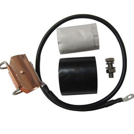China Copper Coaxial Cable Grounding Kit , IBS Components Earth Clamp For 15 / 8 ″ factory