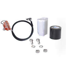 China Ring Buckle Coaxial Cable Grounding Kit For Telecom Cable , Copper Telecom Components factory