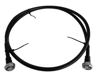 "2 Meter Jumper RF Feeder Cable 1/2"" Superflex With 7/16 Male DIN Connector"
