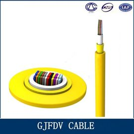 China High Speed Fiber Optic Indoor Cable / GJFDV 48 Core Multimode Optical Cable factory