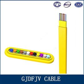 China All Dielectric Structure Ribbon Fiber Cable With GJDFJV Telecom Part factory