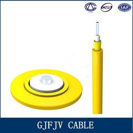 China Simplex MM Fiber Optic Cable GJFJV Kevlar Reinforced Cable Telecom Part factory